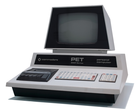 The Commodore PET personal computer, from 1977.