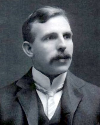 A photograph of Ernest Rutherford (1871-1937).