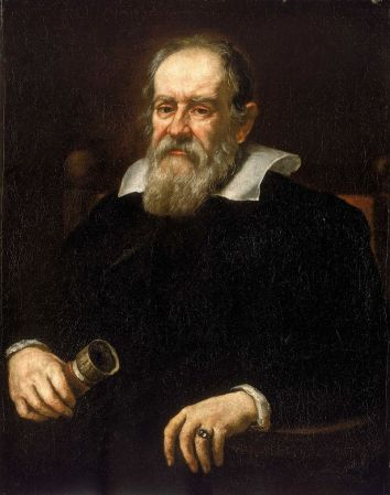 Portrait of Galileo Galilei (1564-1642) by Giusto Sustermans in 1636.