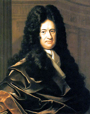 A portrait of Gottfried Leibniz by Christoph Bernhard Francke.
