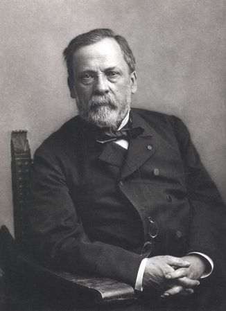 A photograph of Louis Pasteur (1822-1895) by Nadar.