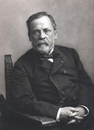 A photograph of Louis Pasteur by Nadar.