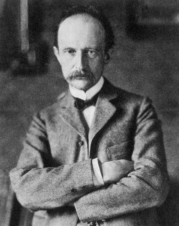A photograph of Max Planck (1858-1947) from 1915.