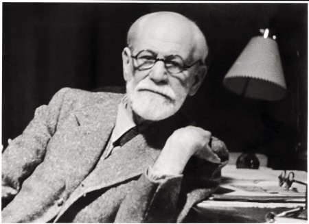 A 1938 photograph of Sigmund Freud.
