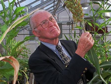 Norman Borlaug.