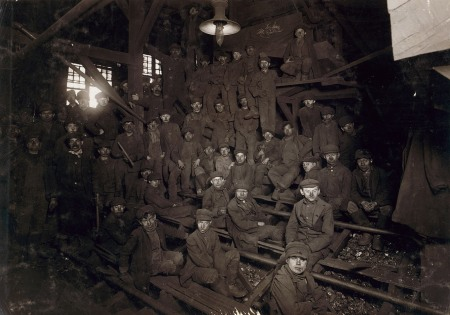 Breaker Boys in Coal Chute.