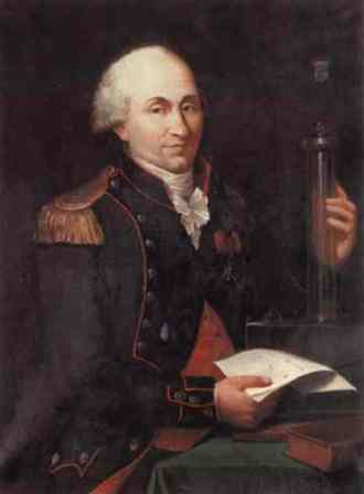 A portrait of Charles-Augustin de Coulomb by Hippolyte Lecomte.