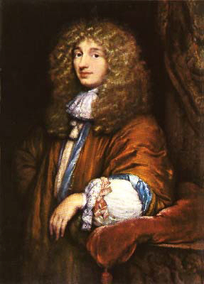 A 1671 portrait of Christiaan Huygens by Caspar Netscher.