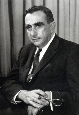 A 1958 photograph of Edward Teller.