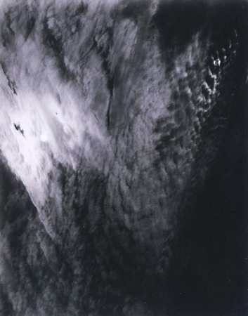 One of Stieglitz's Equivalents, a series of photographs of clouds.