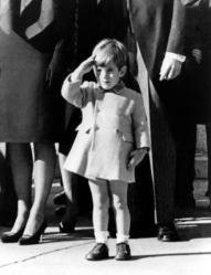 JFK-Jr-salutes-his-fathers-casket