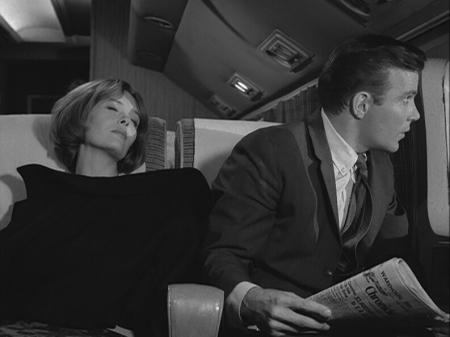 William Shatner in 'Nightmare at 20,000 Feet.'