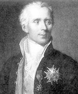 Pierre-Simon Laplace.
