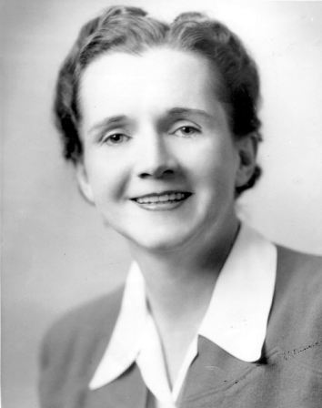 A 1940 photograph of Rachel Carson.
