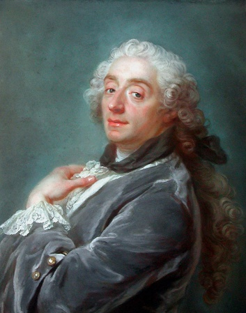 A 1741 portrait of François Boucher by Gustaf Lundberg.