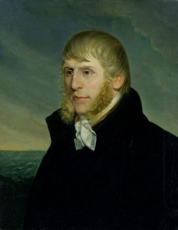 A Self-Portrait of Caspar David Friedrich from 1810-1820.