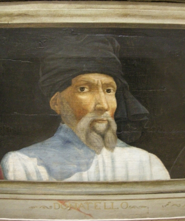 A 16th Century portrait of Donatello by an unknown artist.