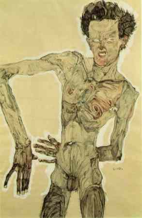 Self-Portrait Standing is a 1910 artwork by Egon Schiele.
