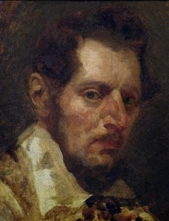 A Self-Portrait by Théodore Géricault.