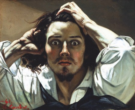 The Desperate Man (Self-Portrait) is a painting by Gustave Courbet.