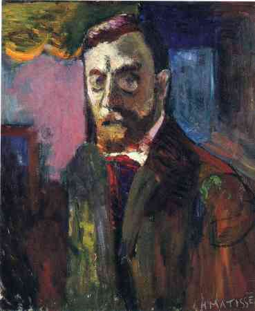 A 1900 Self-Portrait of Henri Matisse.