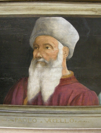 A portrait of Paolo Uccello by an unknown artist.