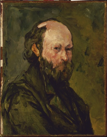 A Self-Portrait of Paul Cézanne from 1878-1880.
