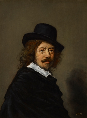 A copy of a Frans Hals Self-Portrait.