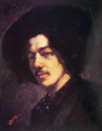 Portrait of Whistler with Hat is an 1858 Self-Portrait by James McNeill Whistler.