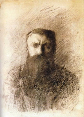 An 1898 Self-Portrait by Auguste Rodin.