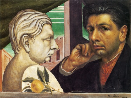 A 1922 Self-Portrait by Giorgio de Chirico.