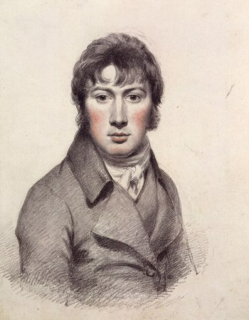 A Self-Portrait by John Constable, c. 1799-1804.