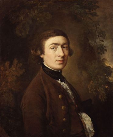 A 1759 Self-Portrait by Thomas Gainsborough.