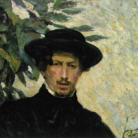 A 1905 Self-Portrait by Umberto Boccioni.