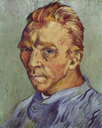 Vincent van Gogh's 1889 Self-Portrait Without Beard may have been his last self-portrait.