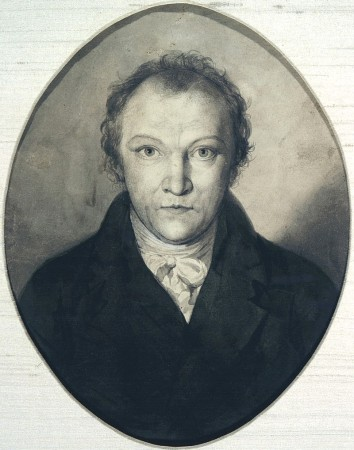 An 1802 Self-Portrait by William Blake.