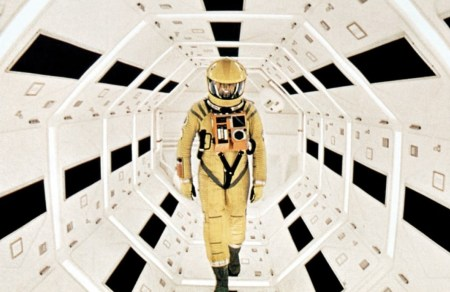 A still image from 2001: A Space Odyssey.