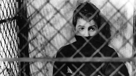 Jean-Pierre Leaud in The 400 Blows.
