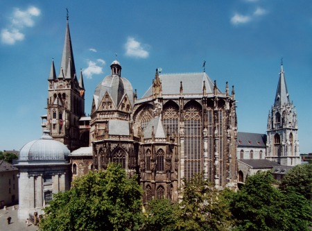Aachen Cathedral.