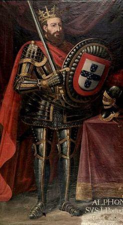 A portrait of King Afonso I.