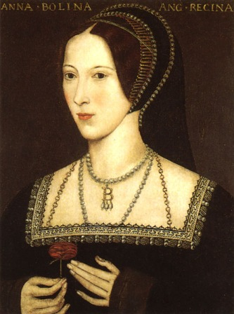 A portrait of Anne Boleyn.