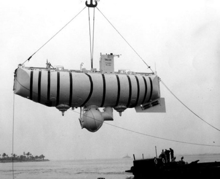 The bathyscaphe Trieste.