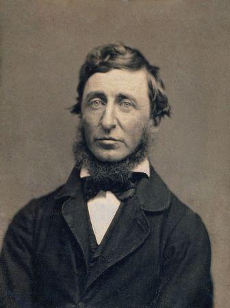An 1856 daguerrotype of Henry David Thoreau by Benjamin D. Maxham.