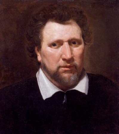 A 1617 portrait of Ben Jonson by Abraham van Blyenberch.