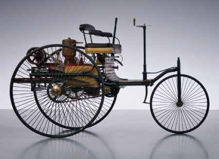The Benz Patent Motor Car.