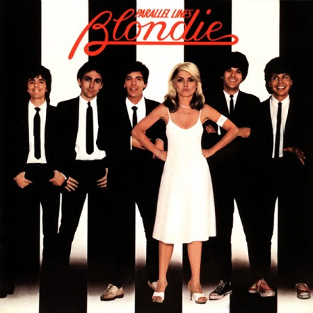 The cover of Blondie's album Parallel Lines.