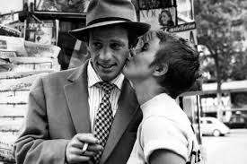 Jean-Paul Belmondo and Jean Seberg in Breathless.
