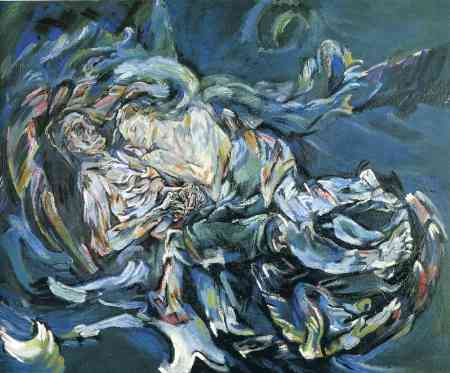 Kokoschkas Painting The Bride Of Wind Also Known As Tempest Is Now Located In Kunstmuseum Basel Switzerland