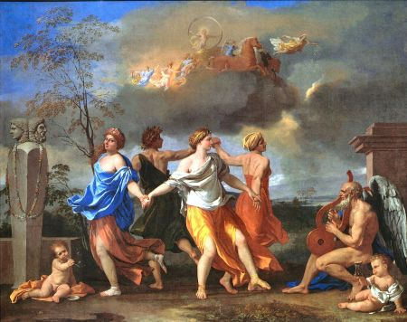 Poussin's Dance to the Music of Time.