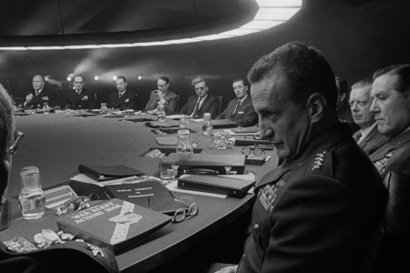 George C. Scott in Dr. Strangelove.